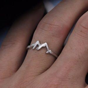 Mountain Range Ring
